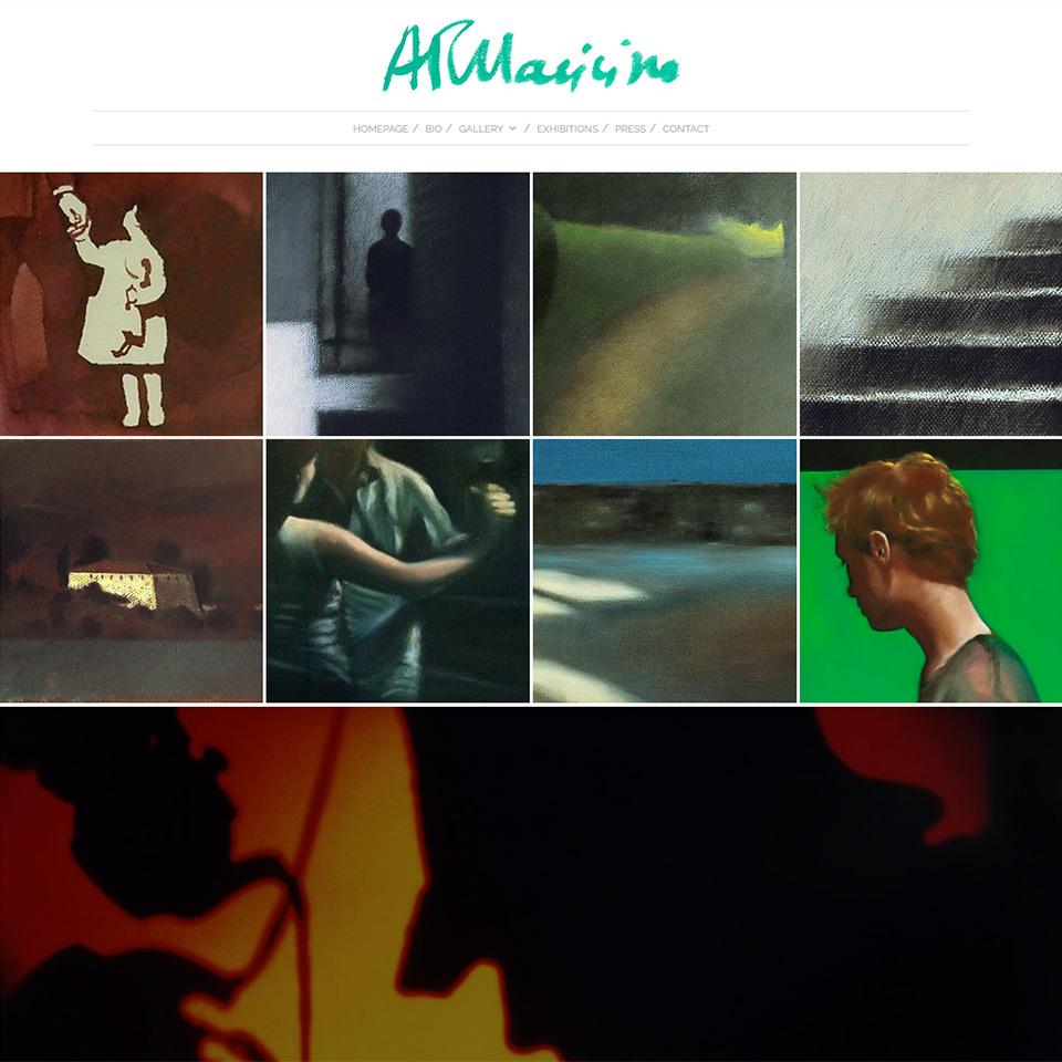 Homepage del sito di Adele Pallavicino