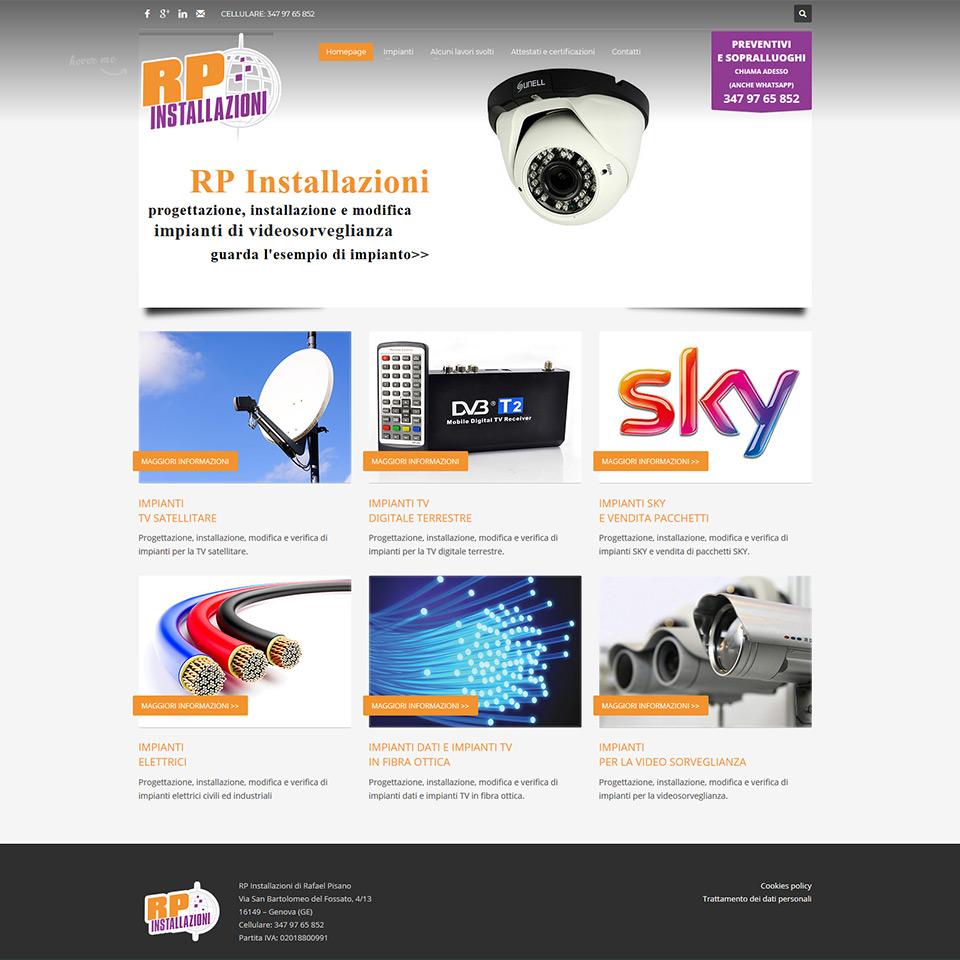 AntennistaGenova.it - RP Installazioni di Rafael Pisano