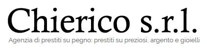 Logo dell'agenzia Chierico: prestiti su pegno