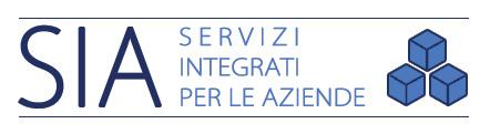 Logo di SIA - Servizi Integrati per le Aziende