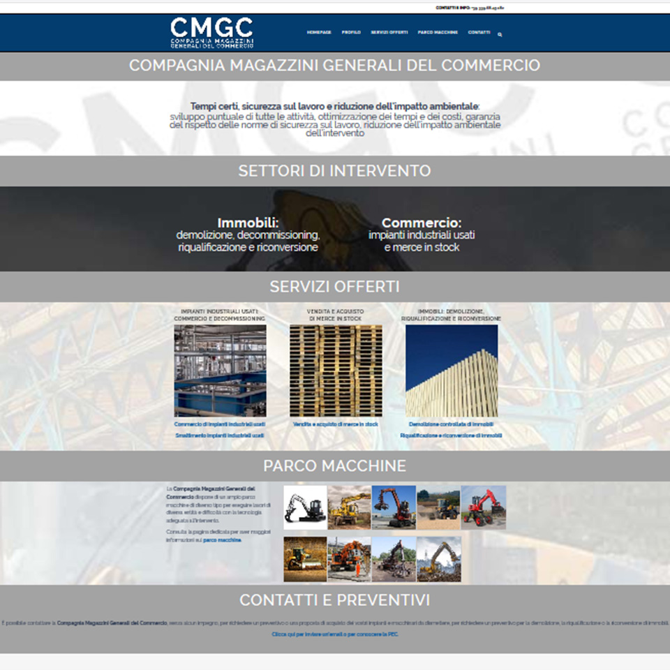 cmgc.it - Compagnia Magazzini Generali del Commercio