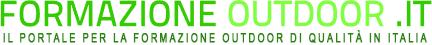 Logo del sito web FormazioneOutdoor.it - Il portale per la formazione outdoor di qualità in Italia