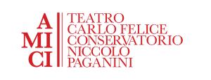 Logo dell'Associazione Amici del Teatro Carlo Felice e del Conservatorio Niccolò Paganini
