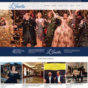 Schermata del sito linvito.net