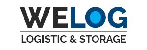Logo Welog - Logistic & Storage