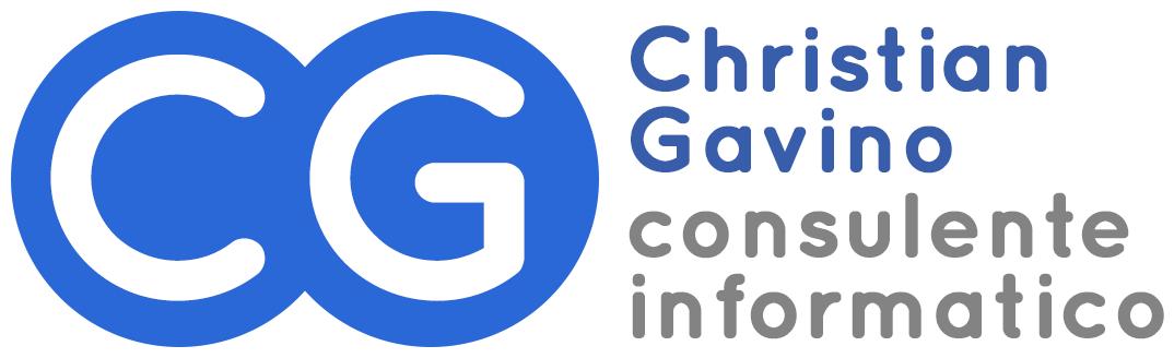 Logo Christian Gavino consulente informatico di Genova