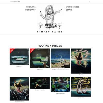 RobertoChiabrera.it: on line con il sito web