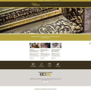 Schermata del sito Antiquando.it - Luca Centanaro - Antiquarito e modernariato e Genova e su Ebay