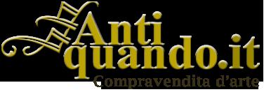 Logo Antiquando Genova - Antiquariato e modernariato