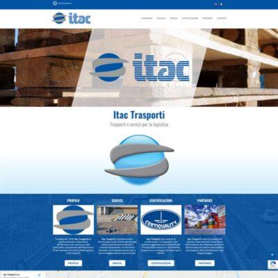 On line con il sito di Itac Trasporti: www.itactrasporti.it