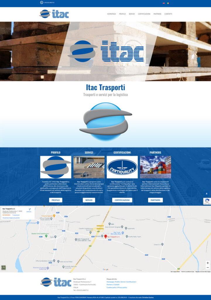 Screenshot 2021-02-06 Itac Trasporti trasporti e servizi per la logistica - Homepage